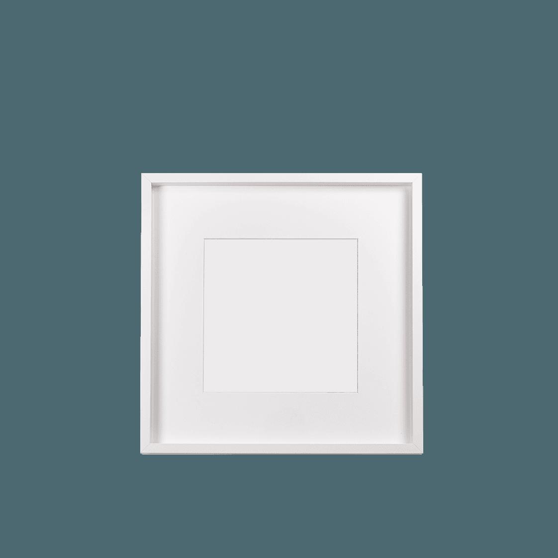 Keretezett kép (fehér, négyzetes)
