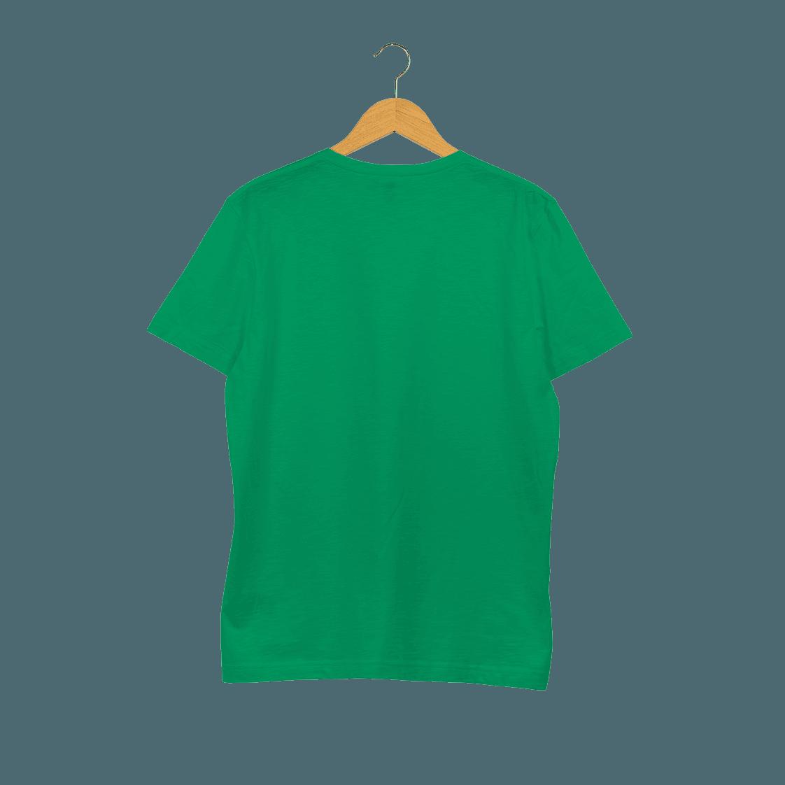Férfi melírozott biopamut póló