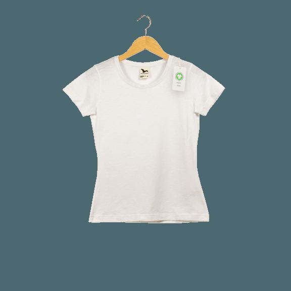 Női melírozott bio pamut póló